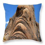 Alabama Hills Monster Throw Pillow