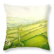 ... And Think Of England. Throw Pillow