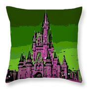 Castle Of Dreams Throw Pillow