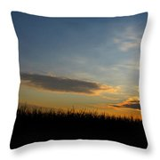 Cornrise Throw Pillow