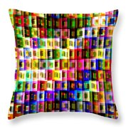 Double Jeopardy Throw Pillow