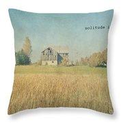 Farm House Solitude Throw Pillow