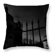 Gate Of Fate  Throw Pillow