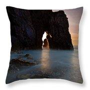 Gateway To The Sun Throw Pillow