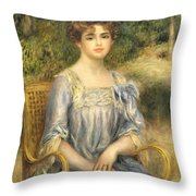 Madame Gaston Bernheim De Villers  Throw Pillow