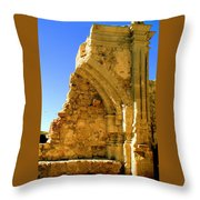 Mission San Joan Capistrano Throw Pillow