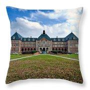 Notre Dame Seminary Throw Pillow