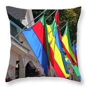 Olcott Flags  7183 Throw Pillow