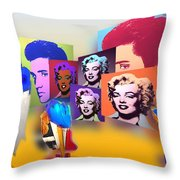Pop Art Pop Up Throw Pillow