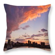Port Of Montreal Throw Pillow
