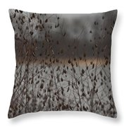 Rattle Rattle Throw Pillow