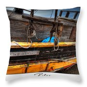 Relics - Edward Birkbeck Throw Pillow