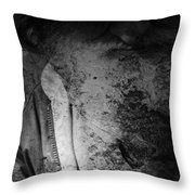 Roads Of People  Throw Pillow
