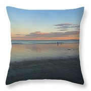 Solo By The Sea Throw Pillow