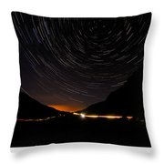 Stars And Cars Throw Pillow