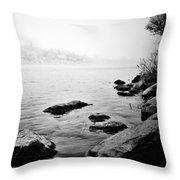 Whispering Docks Throw Pillow