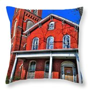 0001 The House Throw Pillow