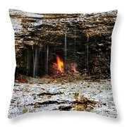 0002 Natural Elements Throw Pillow