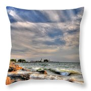 001 In Harmony With Nature Series Throw Pillow