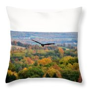 001 Letchworth State Park Series  Throw Pillow