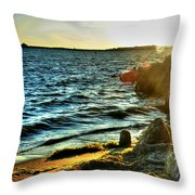 001 Natures Therapeutic Visual Music Series Throw Pillow