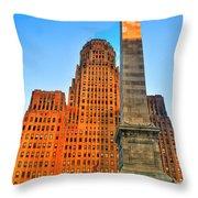 001 Wakening Architectural Dynamics  Throw Pillow