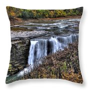 0016 Letchworth State Park Series  Throw Pillow