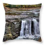 0017 Letchworth State Park Series  Throw Pillow