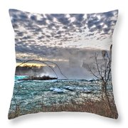 0018 View Of Horseshoe Falls From Terrapin Point Series Throw Pillow