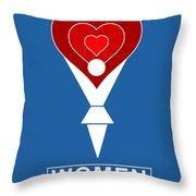 #0019 Women Throw Pillow