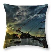 002 Uss Niagara 1813 Series  Throw Pillow