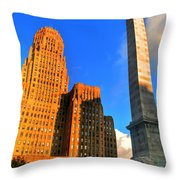 002 Wakening Architectural Dynamics Throw Pillow