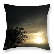 002 When Feeling Down  Pick Your Head Up To The Skies Series Throw Pillow