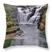 0022 Letchworth State Park Series Throw Pillow
