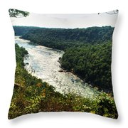 003 Niagara Gorge Trail Series  Throw Pillow