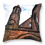 003 St. Paul's Cathedral Throw Pillow