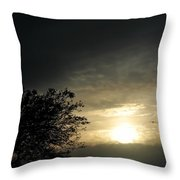 003 When Feeling Down  Pick Your Head Up To The Skies Series Throw Pillow