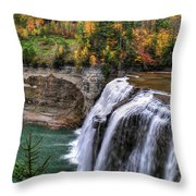 0035 Letchworth State Park Series  Throw Pillow