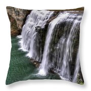 0037 Letchworth State Park Series Throw Pillow