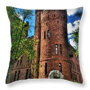 004 The 74th Regimental Armory In Buffalo New York Throw Pillow