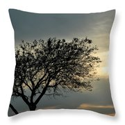 004 When Feeling Down  Pick Your Head Up To The Skies Series Throw Pillow