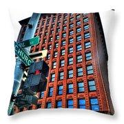 005 Guaranty Building Series Throw Pillow