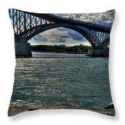 005 Peace Bridge Series II Beautiful Skies Throw Pillow