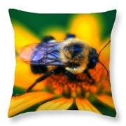 005 Sleeping Bee Series Throw Pillow