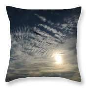 005 When Feeling Down  Pick Your Head Up To The Skies Series Throw Pillow