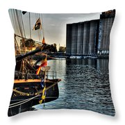 006 Uss Niagara 1813 Series Throw Pillow