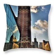 006 Wakening Architectural Dynamics Throw Pillow