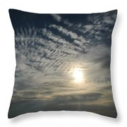 006 When Feeling Down  Pick Your Head Up To The Skies Series Throw Pillow