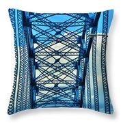 007 Grand Island Bridge Series  Throw Pillow