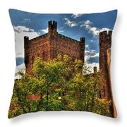 007 The 74th Regimental Armory In Buffalo New York Throw Pillow